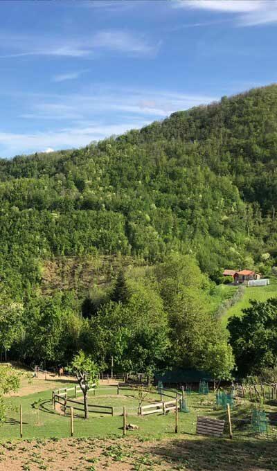 Agriturismo in Garfagnana, valle del Serchio
